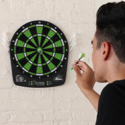 "Fat Cat Sirius 13.5"" Electronic Dartboard (New Design) Soft-Tip Dartboard Fat Cat"