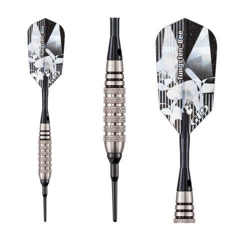 Viper 80% Tungsten Bee Soft Tip Darts Knurled Barrel 18 Grams Soft-Tip Darts Viper