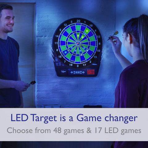 "Image of Viper Ion Illuminated Electronic Dartboard, 15.5"" Regulation Target"