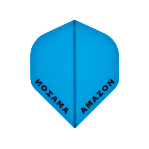 Amazon Standard Translucent Blue Flights Dart Flights Viper