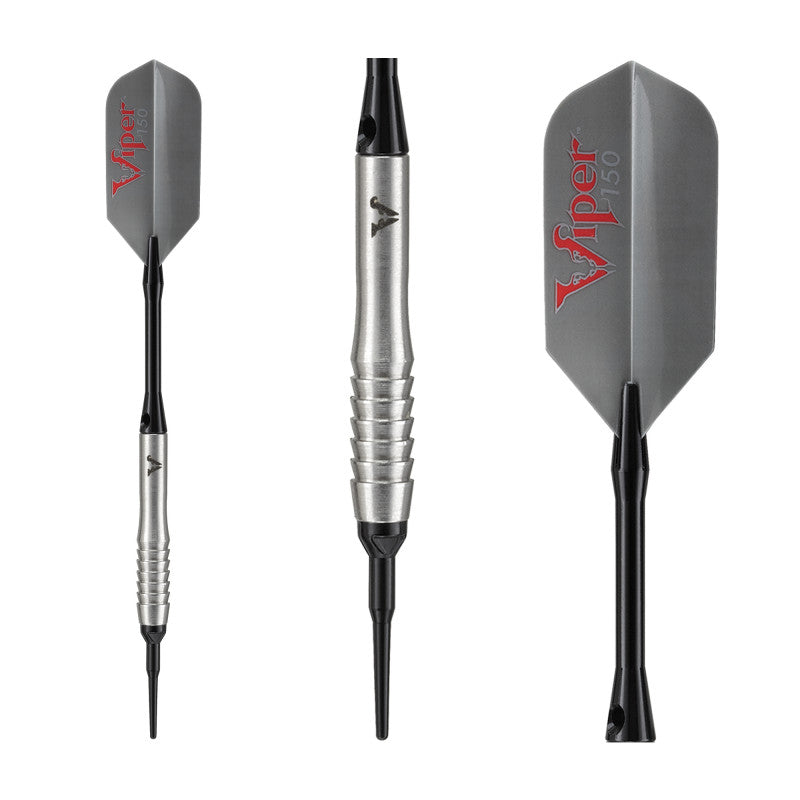 Viper V-Factor Darts Tungsten Soft Tip Darts Shark Fin Barrel 20 Grams