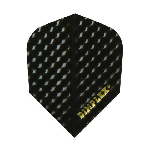 Dimplex Standard Black Flights Dart Flights Harrows