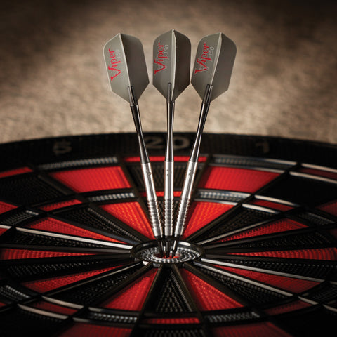 Image of Viper V-Factor Darts Tungsten Soft Tip Darts Shark Fin Barrel 20 Grams