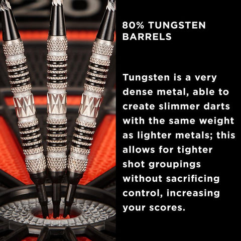 Image of Viper Astro Tungsten Soft Tip Darts Black Rings 18 Grams