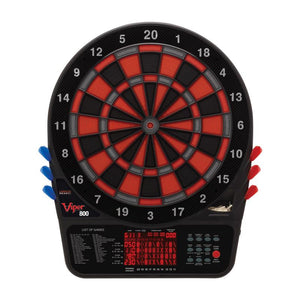 Viper 800 Electronic Dartboard, Metropolitan Espresso Cabinet & Shadow Buster Dartboard Light Bundle Darts Viper