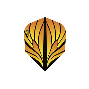 V-100 Wings Flights Standard Orange Dart Flights Viper