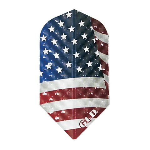 Dimplex Slim American Flag Flights Dart Flights Harrows