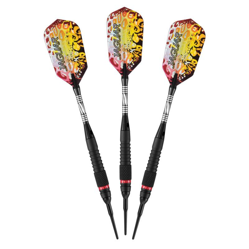 Viper Jaguar Darts 80% Tungsten Soft Tip Darts 1 Small Knurled Ring 18 Grams Soft-Tip Darts Viper