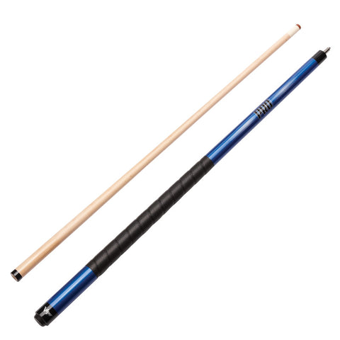 Image of Viper Sure Grip Pro Blue Cue and Casemaster Q-Vault Supreme Black Cue Case