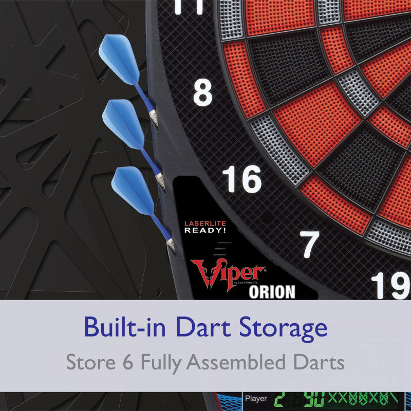 Viper Orion Electronic Dartboard Soft-Tip Dartboard Viper