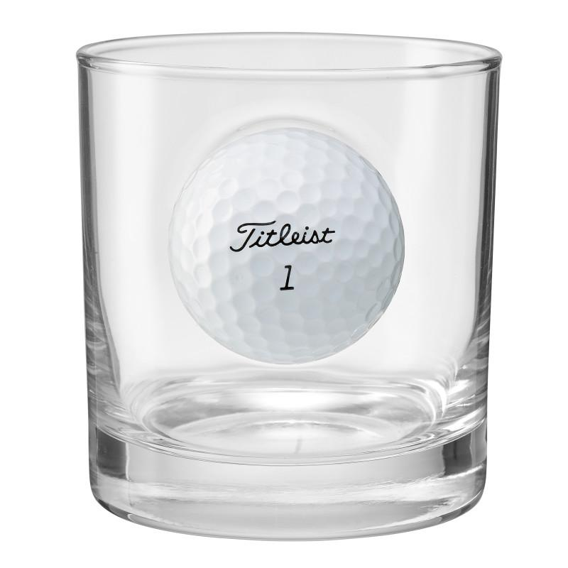 BenShot Rocks Glass with Golf Ball - 11oz