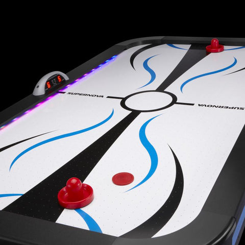 Image of Fat Cat Supernova LED Light-Up Air Hockey Table