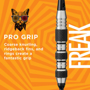 Viper The Freak Soft Tip Darts Knurled and Shark Fin Barrel 18 Grams
