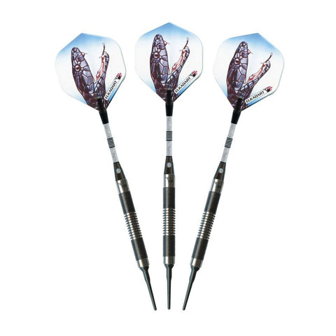 Image of Elkadart Black Mamba 80% Tungsten Soft Tip Darts Soft-Tip Darts Elkadart