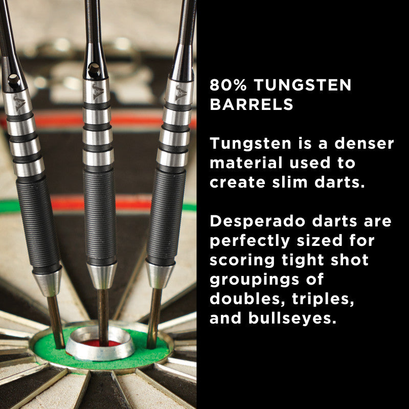 Viper Desperado 80% Tungsten Steel Tip Darts Iron Cross 24 Grams