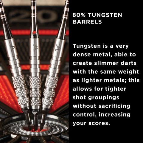 Image of Viper Bully Tungsten Soft Tip Darts 3 Knurled Rings 18 Grams
