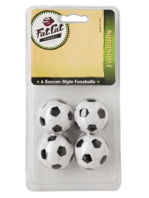 Viper Black & White Inlaid Balls - Set of 4