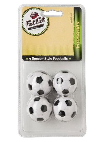 Image of Viper Black & White Inlaid Balls - Set of 4 Foosball Accessories Viper