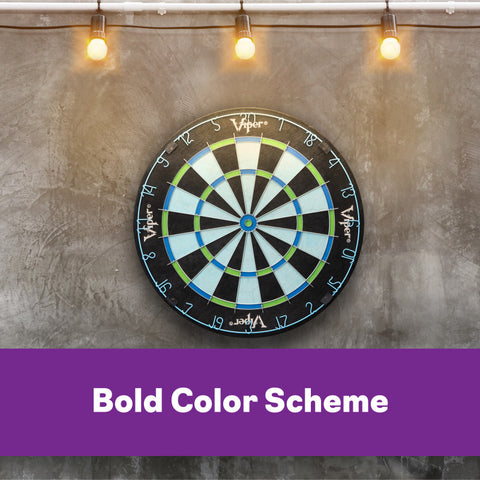 Image of Viper Chroma Sisal Dartboard