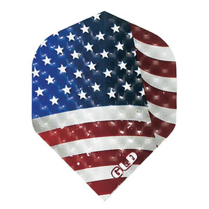 Dimplex Standard American Flag Flights Dart Flights Harrows