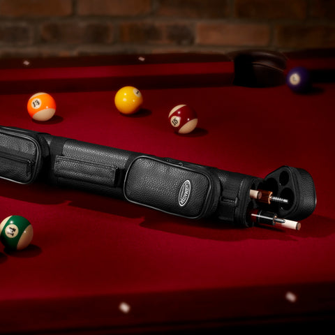 Image of Casemaster Classic Q-Vault 2Butt 2Shaft Cue Case Billiard Cue Case Casemaster