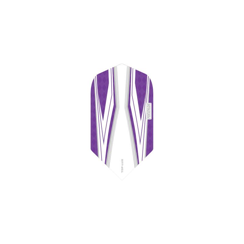 Pentathlon TDP-LUX Slim Purple/White Flights Dart Flights Viper