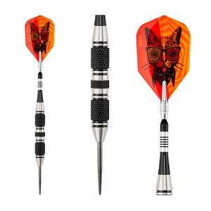 Viper The Freak Steel Tip Darts 3 Knurled Rings Barrel 22 Grams