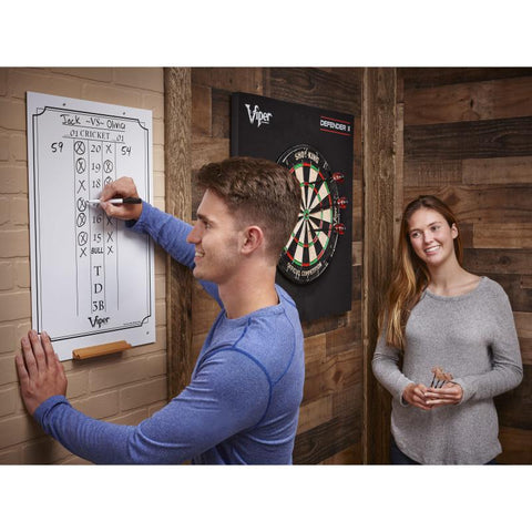 Image of Viper Large Cricket Dry Erase Scoreboard Dartboard Accessories Viper