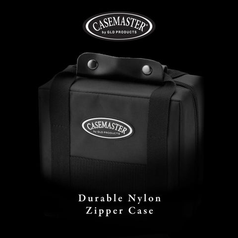 Casemaster Elite Black Nylon Dart Case