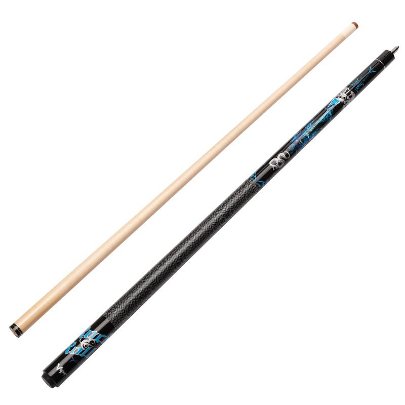 Viper Underground Rock & Roll Cue and Casemaster Q-Vault Supreme Black Cue Case Billiards Viper