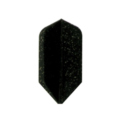 Dyna Star Slim Black Glitter Flights Dart Flights Dyna St