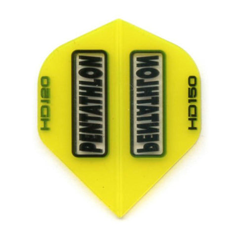Pentathlon HD 150 Standard Yellow Flights Dart Flights Viper