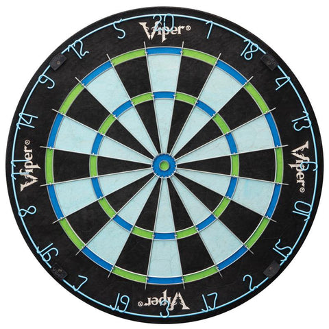 Image of Viper Vault Deluxe Dartboard Cabinet with Built-In Pro Score, Chroma Sisal Dartboard, Laser Throw Line, and Black Mariah Darts Viper