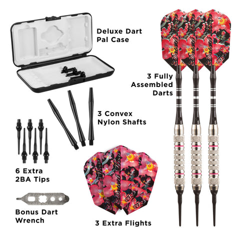 Viper Desert Rose Darts Soft Tip Darts 16 Grams Soft-Tip Darts Viper