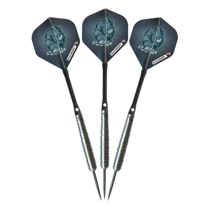 Elkadart Rhino Tungsten Steel Tip Darts 30 Grams