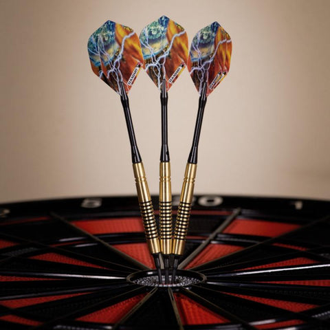 Image of Elkadart Storm Soft Tip Darts Black Rings 14 Grams