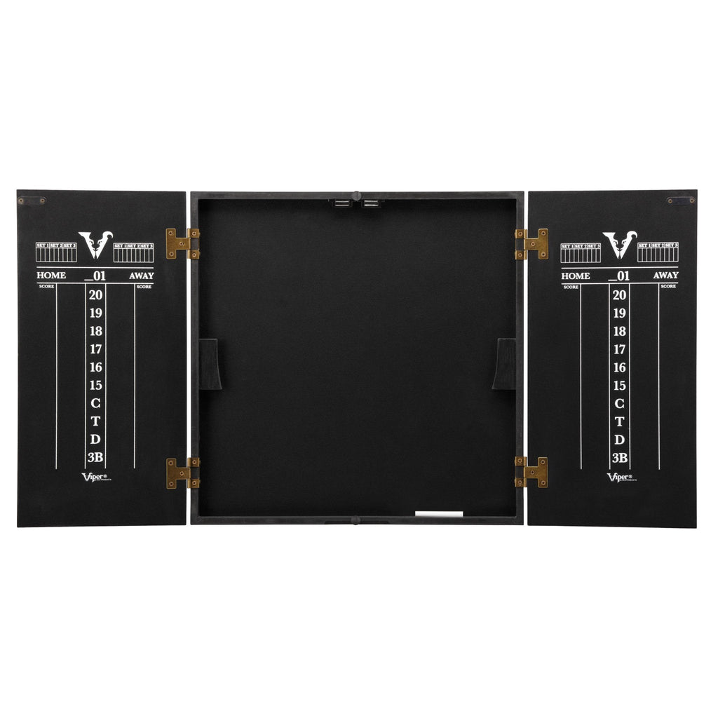 [REFURBISHED] Viper Hideaway Dartboard Cabinet with Reversible Traditional and Baseball Dartboard Refurbished Refurbished GLD Products