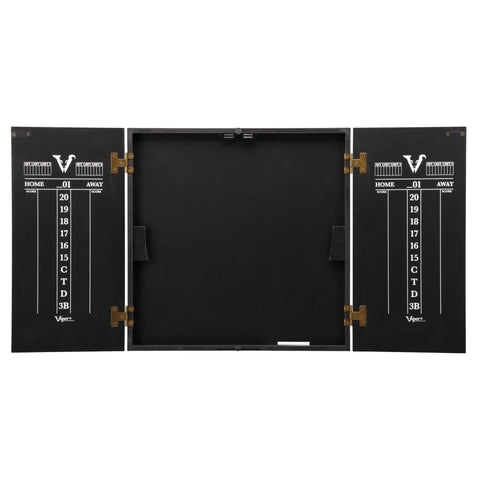 Image of [REFURBISHED] Viper Hideaway Dartboard Cabinet with Reversible Traditional and Baseball Dartboard Refurbished Refurbished GLD Products