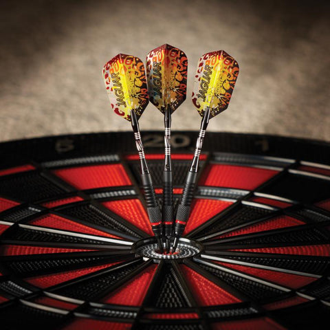 Image of Viper Jaguar Darts 80% Tungsten Soft Tip Darts 1 Small Knurled Ring 18 Grams Soft-Tip Darts Viper