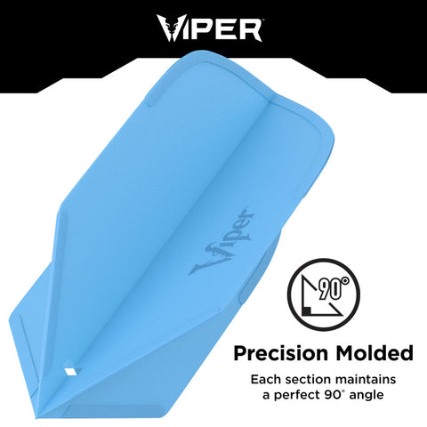 Viper Cool Molded Dart Flights Slim Blue