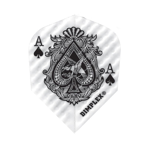 Dimplex Standard Ace of Spades Flights Dart Flights Harrows