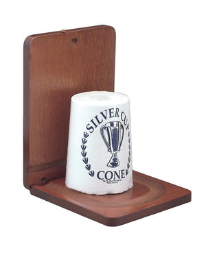 Silver Cup Billiard Cone Chalk