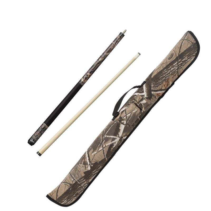 Viper Realtree Hardwoods HD Junior Cue and Viper Realtree Hardwoods HD Soft Cue Case Billiards Viper