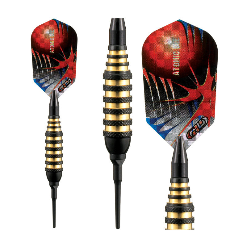 Viper Atomic Bee Darts Black Soft Tip Darts 16 Grams