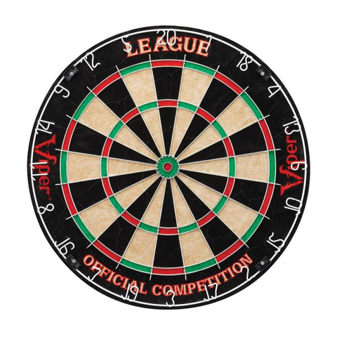 "Image of Viper League Sisal Dartboard, Metropolitan Mahogany Cabinet, Shadow Buster Dartboard Lights & ""The Bull Starts Here"" Throw Line Marker Darts Viper"