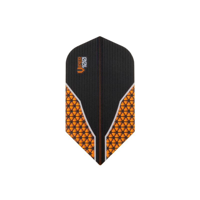V-100 Flights Slim Orange Dart Flights