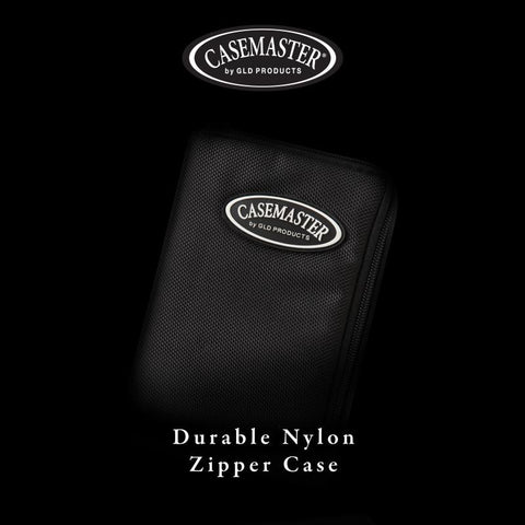 Image of Casemaster Select Black Nylon Dart Case Dart Cases Casemaster