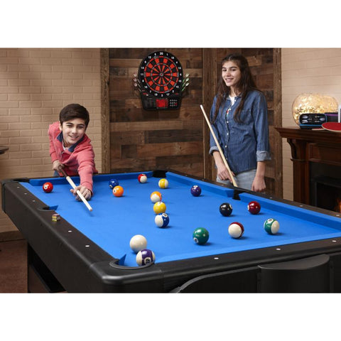 Fat Cat Original 3-in-1 Blue 7' Pockey™ Multi-Game Table