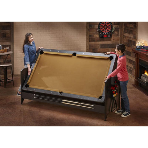 Image of Fat Cat Original 3-in-1 Tan 7' Pockey™ Multi-Game Table Multi-Tables Fat Cat
