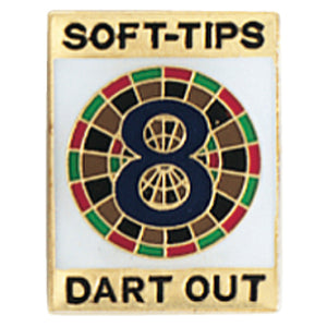 Tournament Pins 8 Dart Out